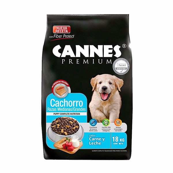 Cannes Cachorro 18 Kg