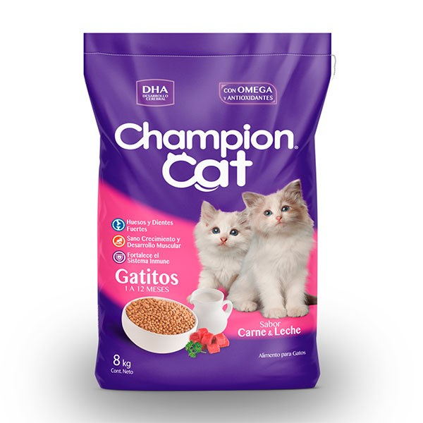 champion cat gatitos - distribuidora san jose