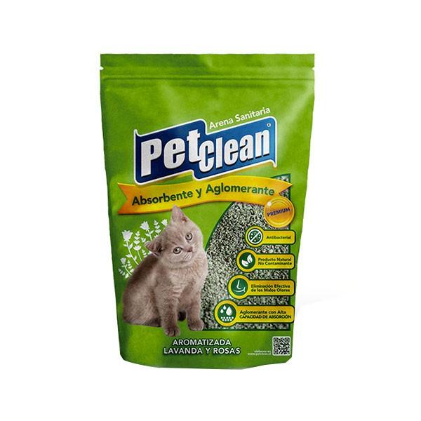 Arena Perfumada Pet Clean 2Kg