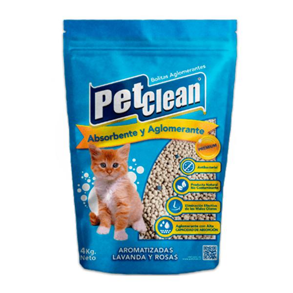Arena bolitas sanitarias Pet Clean