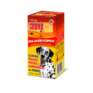 sinpul solucion topica 10 ml